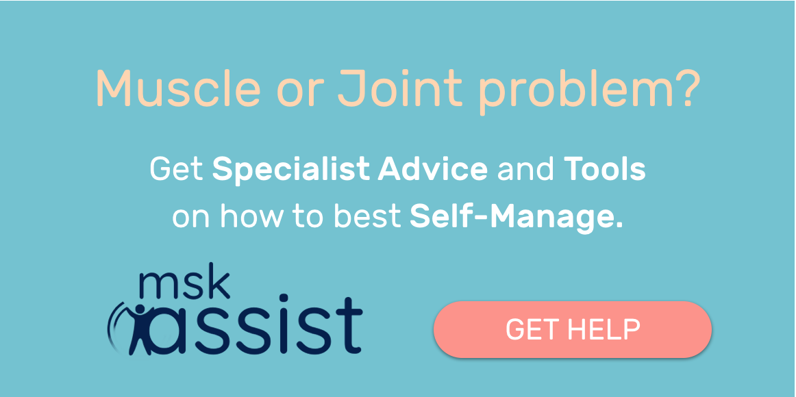 Muscle or joint problem? Get help